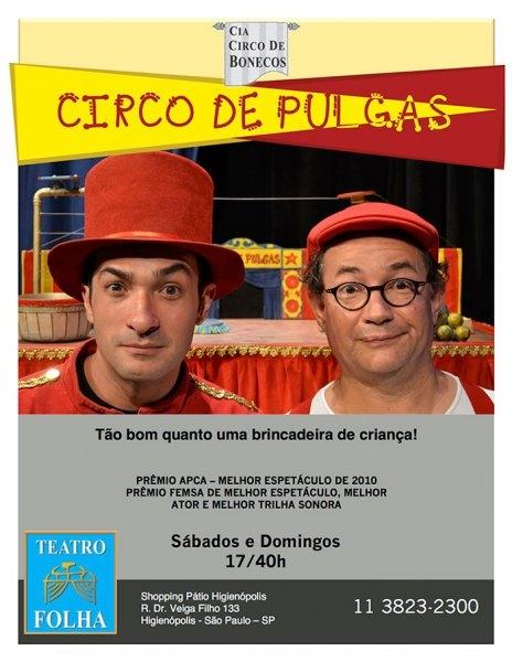Mostra da Cia Circo de Bonecos apresenta: Circo de Pulgas!